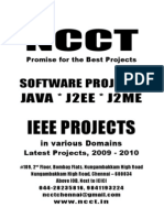1 - SW - Java Project Titles, IEEE 2009, Etc., Year 2009 - 2010