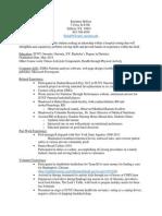 dietetic seminar resume