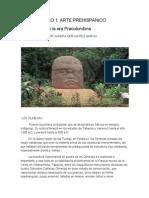 La Escultura en La Era Precolombina
