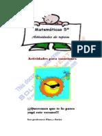 5c2ba Matematicas 5o Vacaciones2008 100625061800 Phpapp01