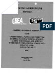 Atomic Agreements Battelle Maint Nuclear Reac Local 652
