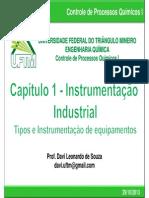 02 Capitulo 1 - Instrumentacao Industrial - Instrumentos