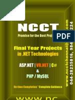 2-Dot Net Projects Including IEEE 2009 - 10