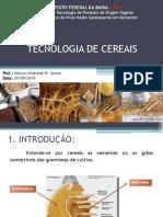 AulaTecnologia de Cereais