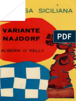 defensa siciliana variante najdorf alberik o´kelly_la