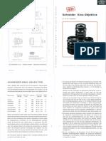Schneider Kinoobjektive 16mm