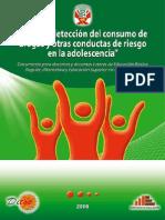 Guia de Deteccion Del Consumo de Drogas y Otras Conductas de Riesgo en La Edolescencia