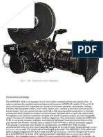 Arriflex 16 BL User Manual Rewrite English