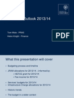 Finance Briefing Presentation April 2013