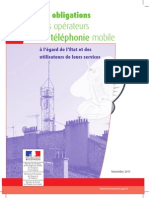 Les Obligations Des Operateurs de Telephonie Mobile Cle63542d