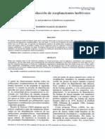 Ramos - Jiliberto, 1995. Alometría y producción de zooplancteles herbívoros.