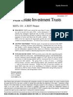 REIT Primer Bear Stearns