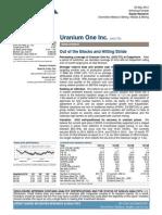 Credit Suisse Uranium Initiation