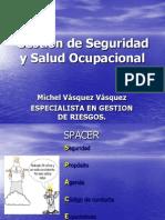 Módulo I - Gestión de la Seguridad, Salud e Higiene Ocupacional en Minería - Ing. Michel Vásquez Vásquez