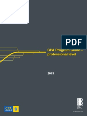 CPA Australia | Certified Public Accountant | Educational