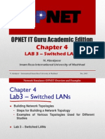 OPNET-Chapter 4 - Switched LANs Networks