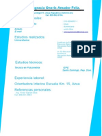 Curriculum Alejandro