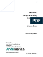 Arduino Programing Notebook ES