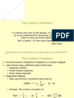 The Inverse z-Transform.ppt