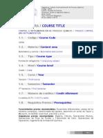 16554 Control Instrumentacion Procesos Quimicos