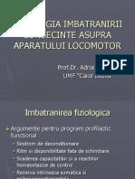 Curs Optional - Fiziologia Varsticului - Osteo-Articular