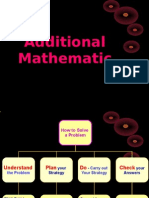Add Maths. Module