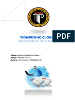 Computing Cloud Luis Ramirez