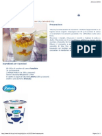 LIDL Dessert Al Mango e Yogurt Croccante