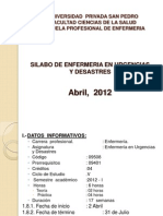 Usp Presentacion Sylabo 2012