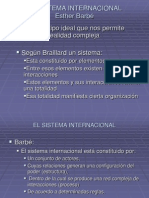 11 Clase El Sistema Internacional