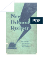 New Delineator Recipes