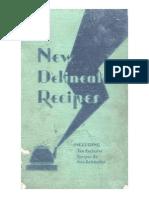 New Delineator Recipes