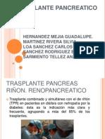 2.- Trasplante renopancriatico
