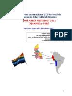 i Congreso Internacional y Ix Nacional de Educacic3b3n Intercultural Bilingc3bce