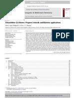 2013 Thiazolidinones Progres Throught Multifarious Applications