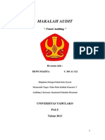 Makalah Fraud Auditing