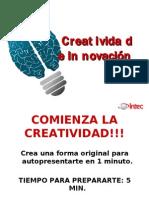 Presentacion Creatividad e Innovacion