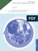 Anexo 4  Informe Economía Creativa