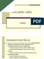 Root, Prefix, Suffix [Compatibility Mode]