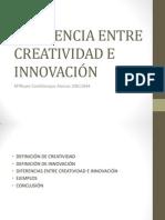 96922434 Diferencia Entre Creatividad e Innovacion