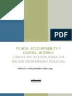 Policia Accountability y Control Interno - Lineas-De-Accion-para-un-mejor-Desempeno-policial Patricio Tudela 2011