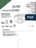 Manual Fujifilm s5700 Esp