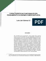 Gomez - Funcionalismo teorías económicas