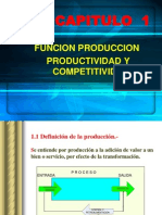 CAPÍTULO 1 PRODUCCIÓN