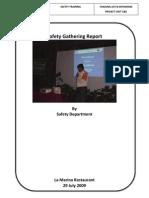 Safety Gathering 29 July 2009