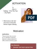 Motivation 2 Parts