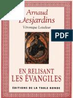 Desjardins Arnaud - En relisant les évangiles