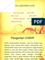 Cvavr (Codevision Avr)