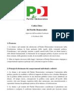 Codice Etico PD