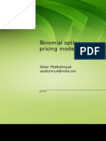 Binomial Options Pricing Model